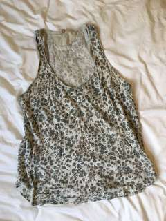 Wilfred Free Floral Tank Top