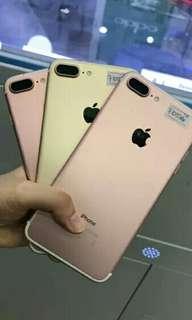 Iphone 7s plus 128 Gb rose gold Dikredit proses 3 menit
