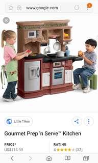 Little tikes kitchen gourmet
