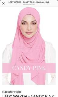 Lady Warda-Candy Pink Naelofar Hijab