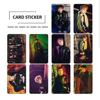 B.A.P Card Sticker