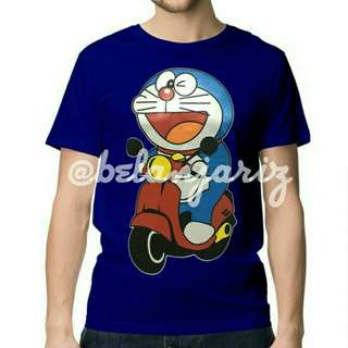 Kaos Distro Kartun Doraemon Matic