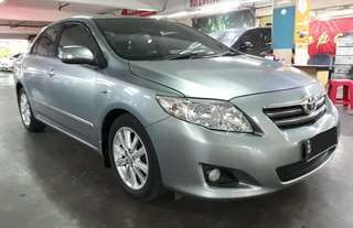 Toyota Corolla ALTIS 1.8 G AT tahun.2008 Low KM -Keyless Start Stop Engine Botton .Tangan Pertama dari Baru an.PT