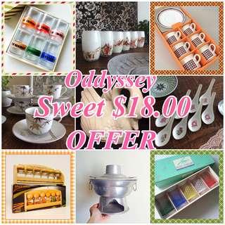 Oddyssey Sweet $18.00 Offer