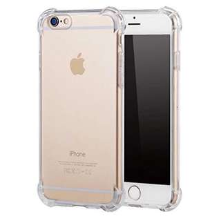 iPhone TRANSPARENT ANTISHOCK CASE