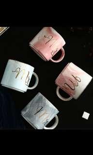 *NEW* Marble Series Mr and Mrs Mug