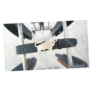 Braun Buffel replacement belt (custom made)