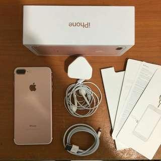 Iphone 7plus 256gb Rose gold Ex inter Bisa Tt alltype hp