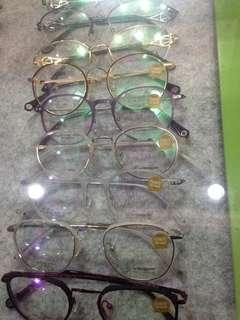 Kacamata cyber eyeworks frame transparan