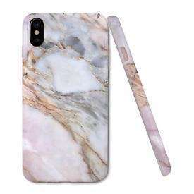 New IPhone X case - Pink Marble