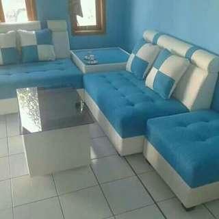Sofa minimalis sudut