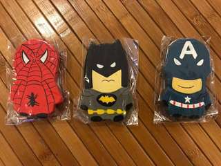 Superman, Captain America, Bat Man, Spiderman Superhero Magnet