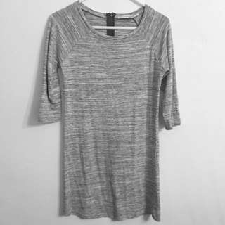 (AU 6) Grey shirt dress