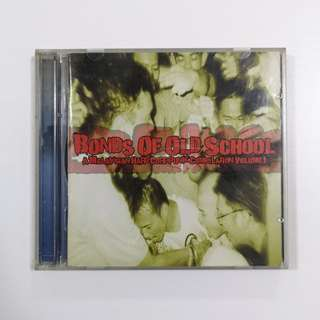 Various Artists 'Bonds of Old School, A Malaysian Hardcore Punk Compilation Vol. 1' CD