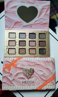 Too Faced x Mecca 20 Funfetti Palette