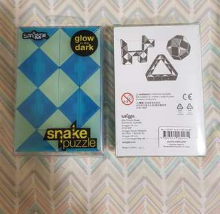 Smiggle Snake Puzzle (Glow In The Dark)