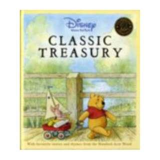 Disney - Winnie The Pooh - Classic Treasury ~ Brand New