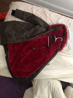 Steve Maden L winter jacket very stylish