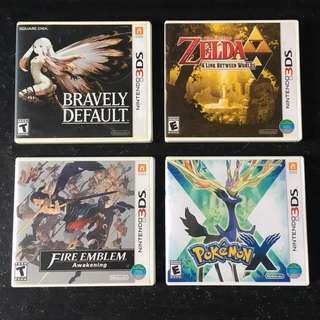 Nintendo 3DS Empty Game Case