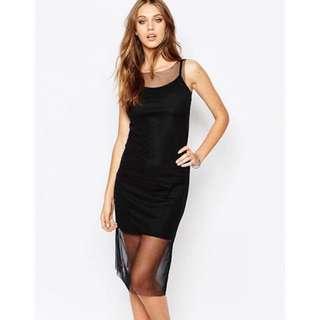 BNWT ASOS mesh dress