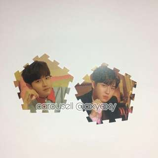 Wanna One I Promise You Tazo Card