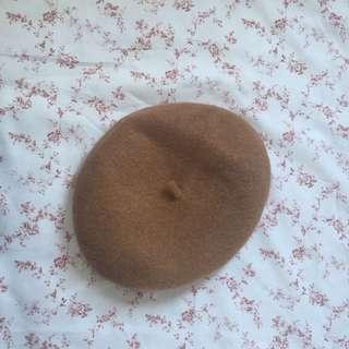 🌈 Brown wool beret 🌈