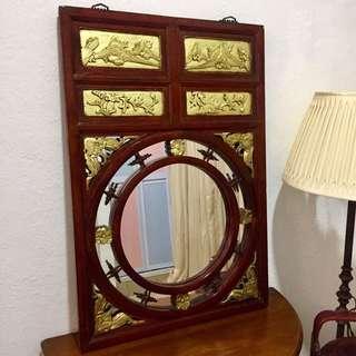 Antique Peranakan Mirror