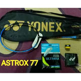 Raket Yonex Astrox 77 & Duora 10 New LCW & Model Raket Lain
