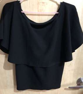 Nursing blouse (black)