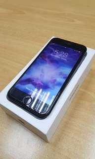 Iphone 7 128GB matteblack Globelocked