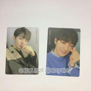 Wanna One I Promise You Photocard