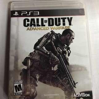 Call of duty advance warfare PS3 Game CD