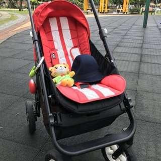 Easywalker mini 推車附嬰兒安全座椅(原價3萬初,歡迎喊價)超好推⋯