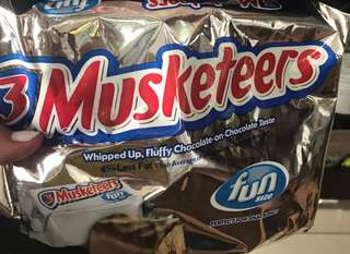 3 Musketeers Chocolates