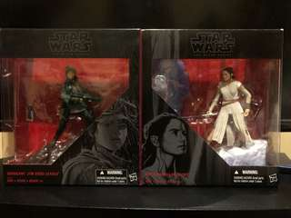 Star Wars The Black Series Jyn Erso and Rey