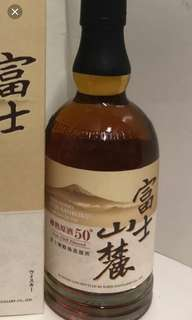 日本富士山麓50%原酒威士忌700ml, no box.每支