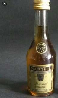 馬爹利VS酒辦30ml一支。