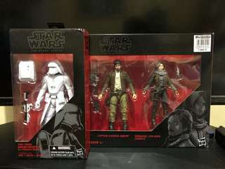 Star Wars The Black Series Jyn Cassian Snowtrooper