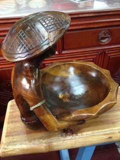 手工木雕刻擺設