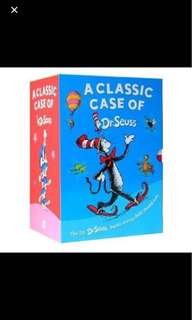 Dr Seuss 20 books case set