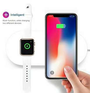 iPhone iwatch 2 in 1 wireless Fast Charger