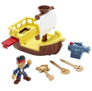 Brand New Fisher Price Disney Captain Jake and the Neverland Pirates -key to the sea battle adventure