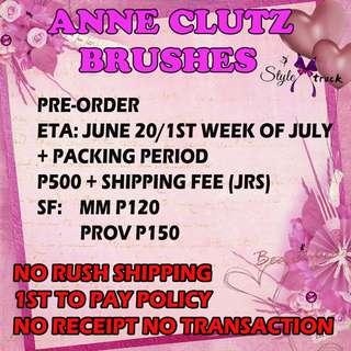 Anne clutz brushes