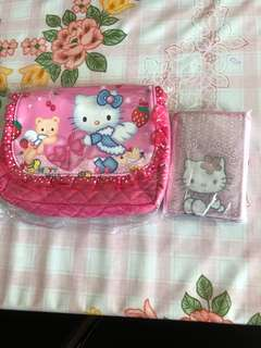 Hello Kitty Bag and wallet