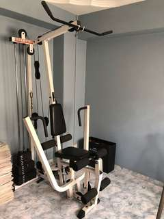 Bundle: 5-in-1 Home Gym and Leg Toner Machine