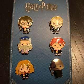 英國直送🇬🇧哈利波特Q版角色襟章套裝 Harry Potter Characters Badges Set