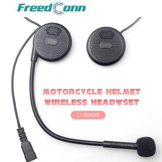 Wireless Bluetooth Headset Helmet FreedConn L1 Handsfree Headset Gojek