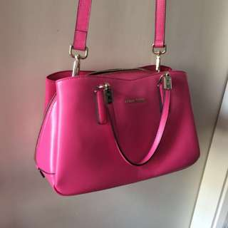 Cour carre pink bag