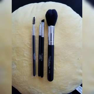 Makeup brush set.  Eye and face