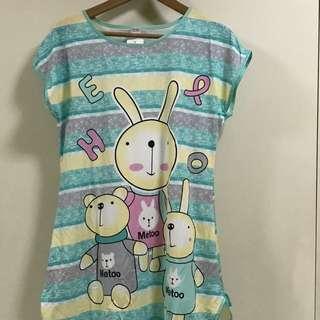 Rabbit Metoo Sleepwear Dress